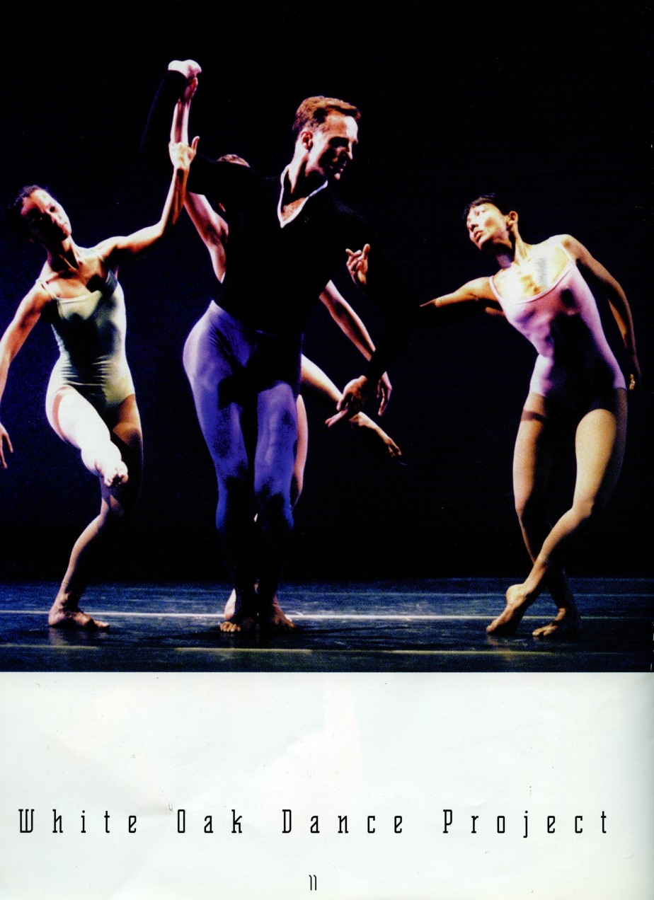 Septet (Merce Cunningham), w/ White Oak Dance Project